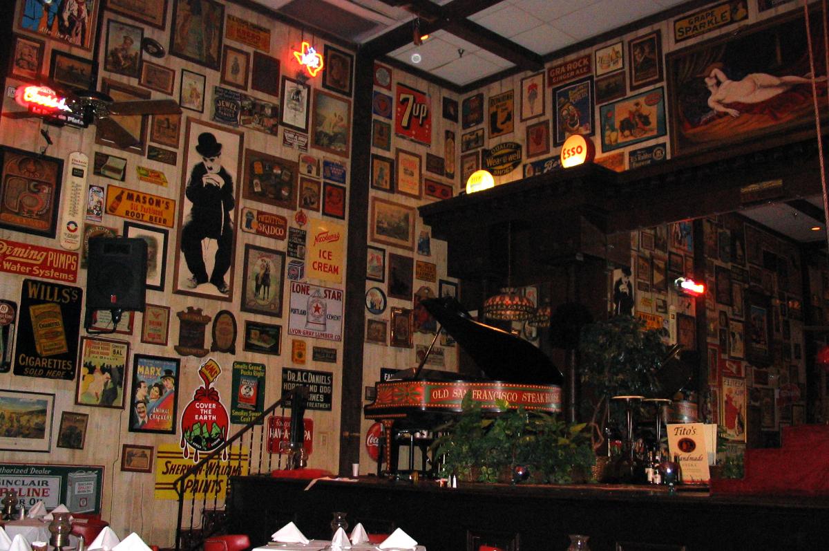 Return To The Old San Francisco Steak House Jimmypribble Com