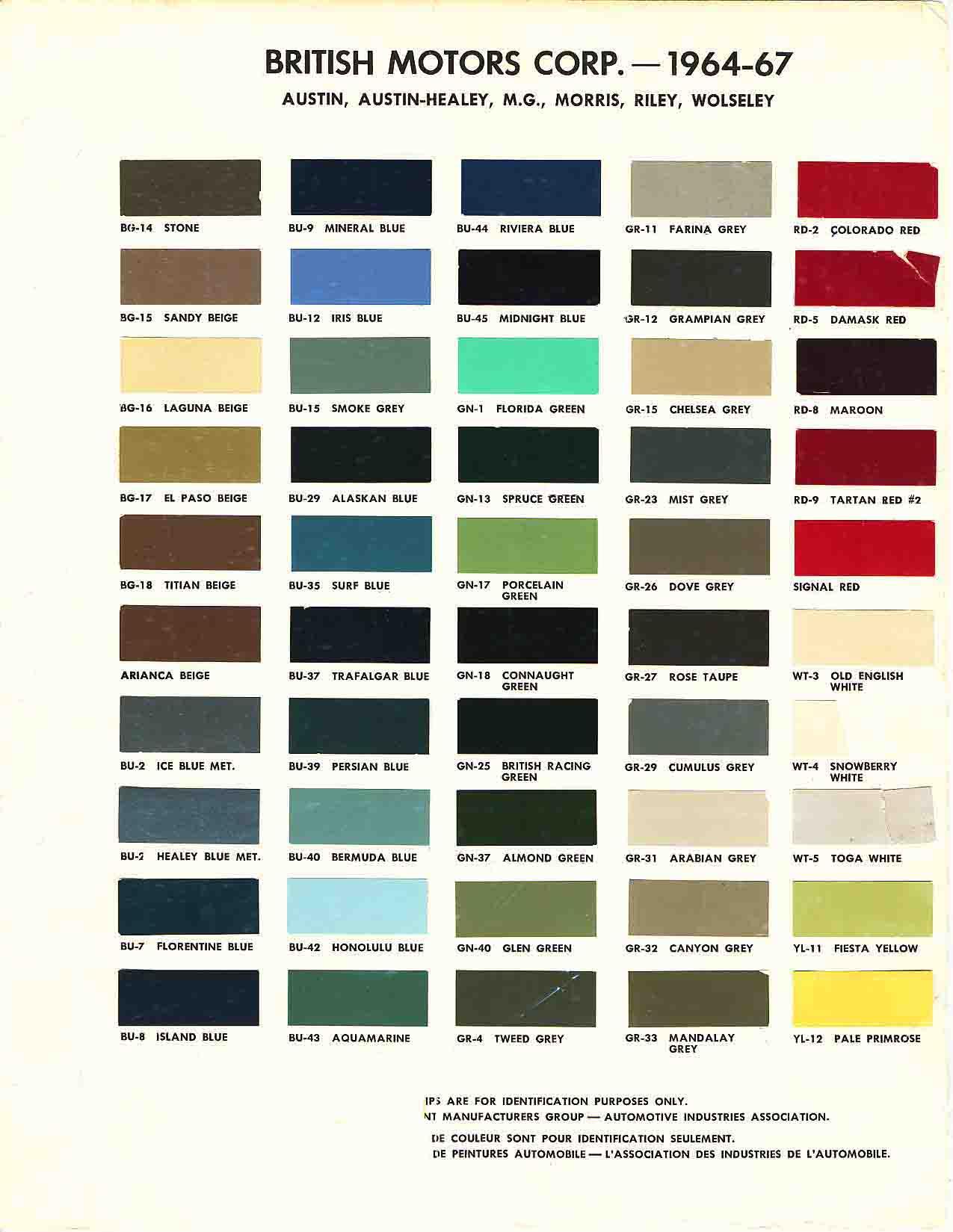 2000 mercedes paint color chart autos post for Mercedes benz paint code location