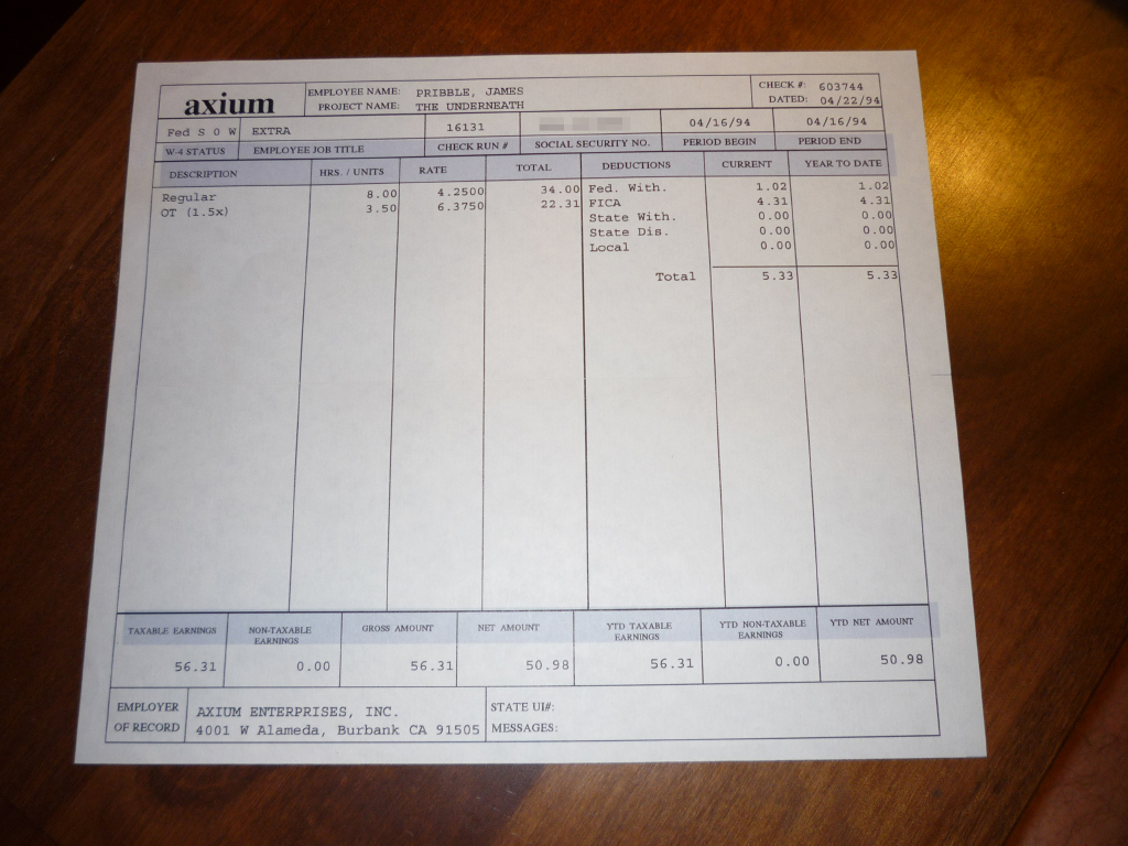 free pay stub template download .